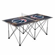Washington Wizards Pop Up 6' Ping Pong Table