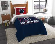 Washington Wizards Reverse Slam Twin Comforter Set