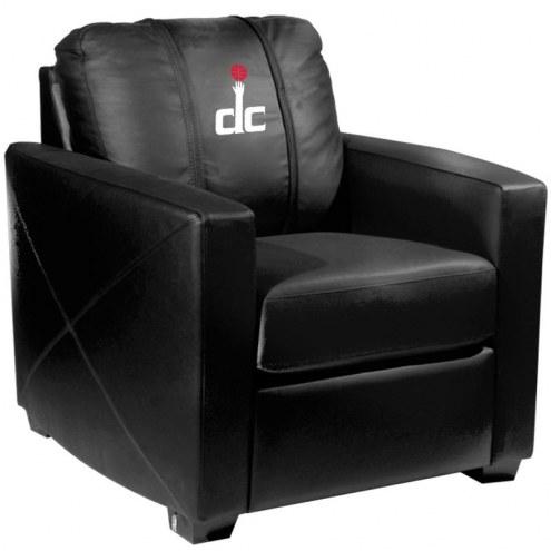 Washington Wizards XZipit Silver Club Chair with Secondary Logo