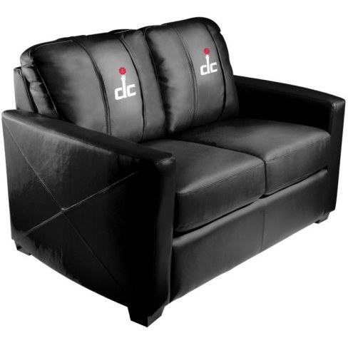 Washington Wizards XZipit Silver Loveseat with Secondary Logo