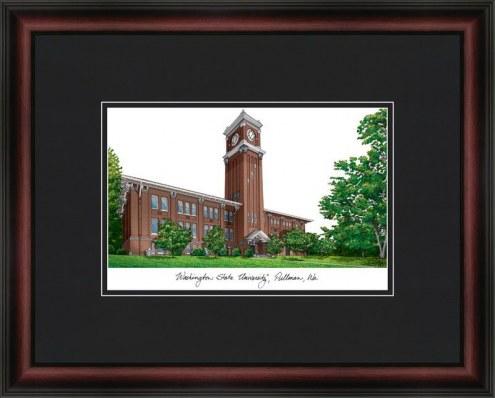 Washington State University Academic Framed Lithograph