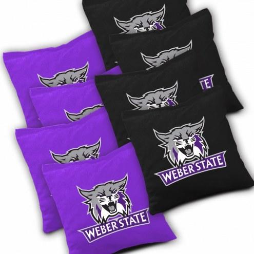 Weber State Wildcats Cornhole Bags