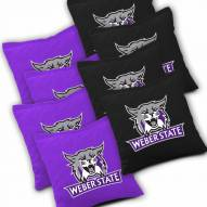 Weber State Wildcats Cornhole Bags