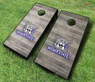 Weber State Wildcats Cornhole Board Set