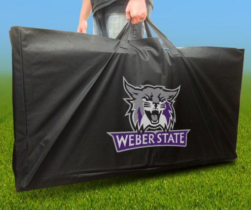 Weber State Wildcats Cornhole Carry Case