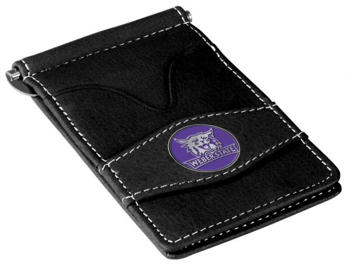 Weber State Wildcats Black Player's Wallet