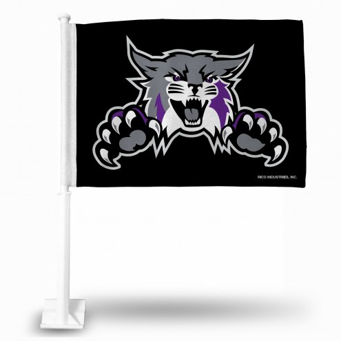 Weber State Wildcats Car Flag