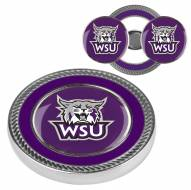 Weber State Wildcats Challenge Coin with 2 Ball Markers