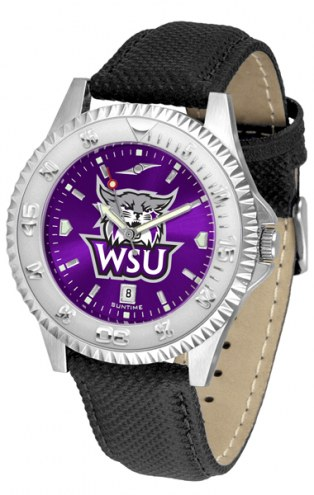 Weber State Wildcats Competitor AnoChrome Men's Watch