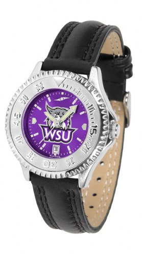 Weber State Wildcats Competitor AnoChrome Women's Watch