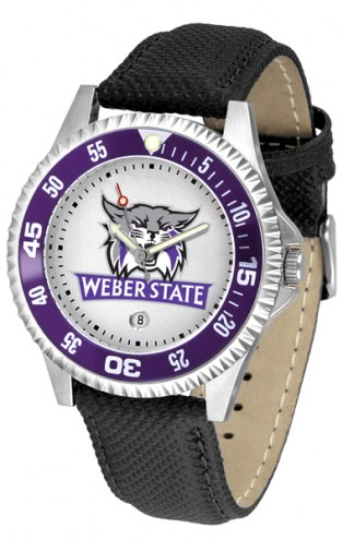 Weber State Wildcats Competitor Men's Watch