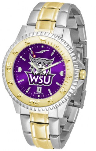 Weber State Wildcats Competitor Two-Tone AnoChrome Men's Watch