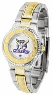 Weber State Wildcats Competitor Two-Tone Women's Watch