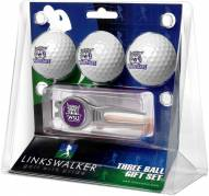 Weber State Wildcats Golf Ball Gift Pack with Kool Tool