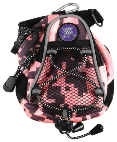 Weber State Wildcats Pink Digi Camo Mini Day Pack