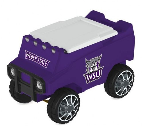 Weber State Wildcats Remote Control Rover Cooler