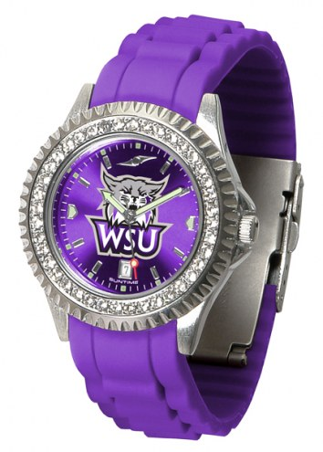 Weber State Wildcats Sparkle Women's Watch