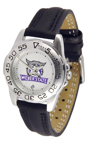 Weber State Wildcats Sport Women's Watch