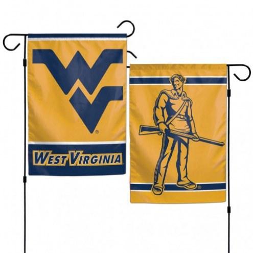 """West Virginia Mountaineers 11"""" x 15"""" Garden Flag"""