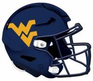 """West Virginia Mountaineers 12"""" Helmet Sign"""