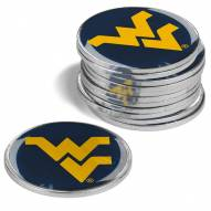 West Virginia Mountaineers 12-Pack Golf Ball Markers