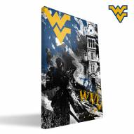 "West Virginia Mountaineers 16"" x 24"" Spirit Canvas Print"