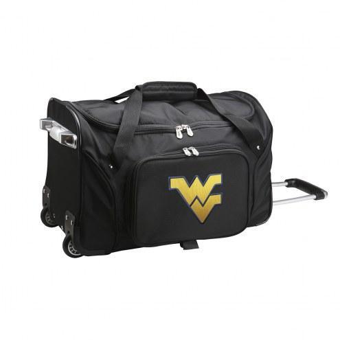 "West Virginia Mountaineers 22"" Rolling Duffle Bag"