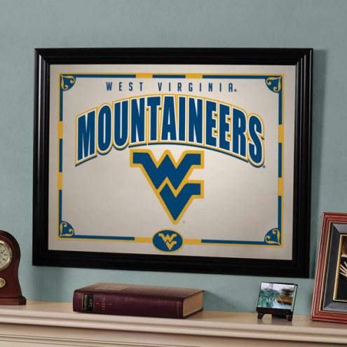 "West Virginia Mountaineers 23"" x 18"" Mirror"