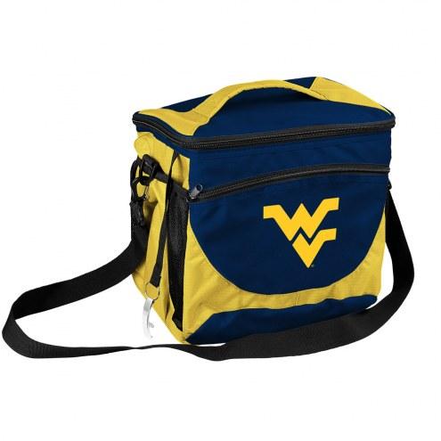 West Virginia Mountaineers 24 Can Cooler
