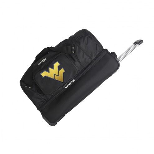 "West Virginia Mountaineers 27"" Drop Bottom Wheeled Duffle Bag"