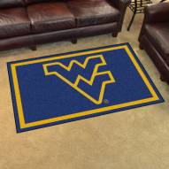 West Virginia Mountaineers 4' x 6' Area Rug