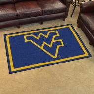 West Virginia Mountaineers 4' x 6' Area Rug