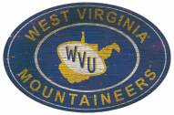 "West Virginia Mountaineers 46"" Heritage Logo Oval Sign"