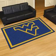 West Virginia Mountaineers 5' x 8' Area Rug