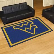 West Virginia Mountaineers 5' x 8' Area Rug