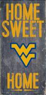 "West Virginia Mountaineers 6"" x 12"" Home Sweet Home Sign"