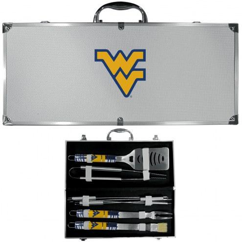West Virginia Mountaineers 8 Piece Tailgater BBQ Set