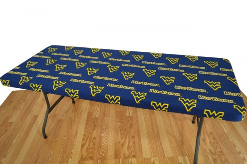 West Virginia Mountaineers 8' Table Cover