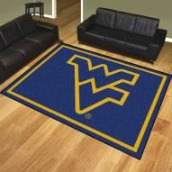 West Virginia Mountaineers 8' x 10' Area Rug