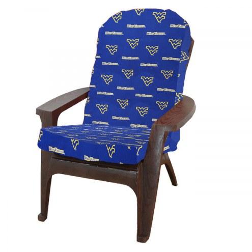 West Virginia Mountaineers Adirondack Chair Cushion