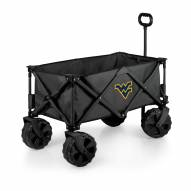 West Virginia Mountaineers Adventure Wagon with All-Terrain Wheels