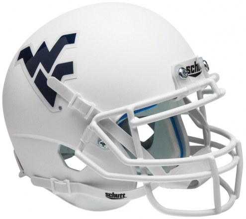 West Virginia Mountaineers Alternate 3 Schutt Mini Football Helmet