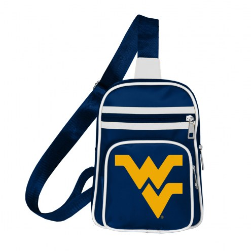 West Virginia Mountaineers Mini Cross Sling Bag