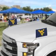 West Virginia Mountaineers Ambassador Car Flags