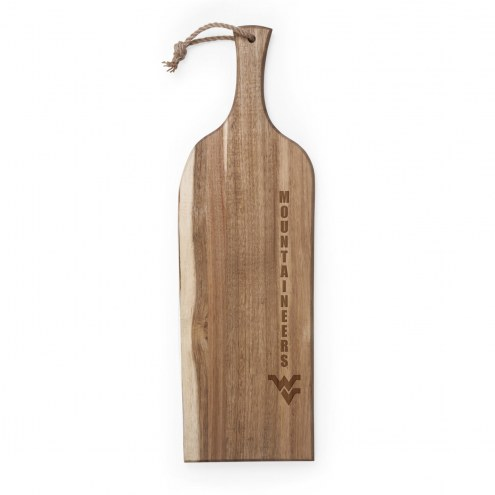 "West Virginia Mountaineers Artisan 24"" Acacia Serving Plank"