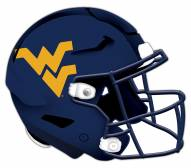 West Virginia Mountaineers Authentic Helmet Cutout Sign