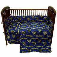 West Virginia Mountaineers Baby Crib Set