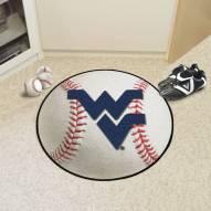 West Virginia Mountaineers Baseball Rug