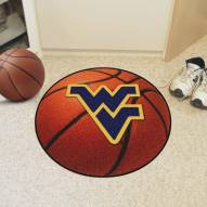 West Virginia Mountaineers Basketball Mat
