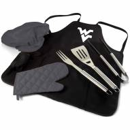 West Virginia Mountaineers BBQ Apron Tote Set